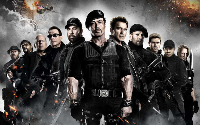 Mega cinema:the expendables 2 - mega tv cyprus